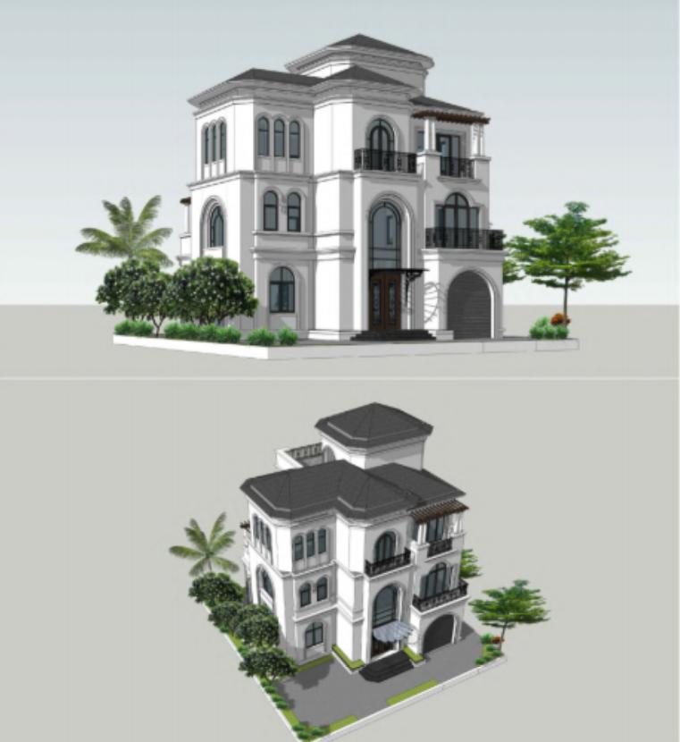 Những ngôi biệt thự cực hiện đại, sang trọng tại Vinhomes Hạ Long Xanh