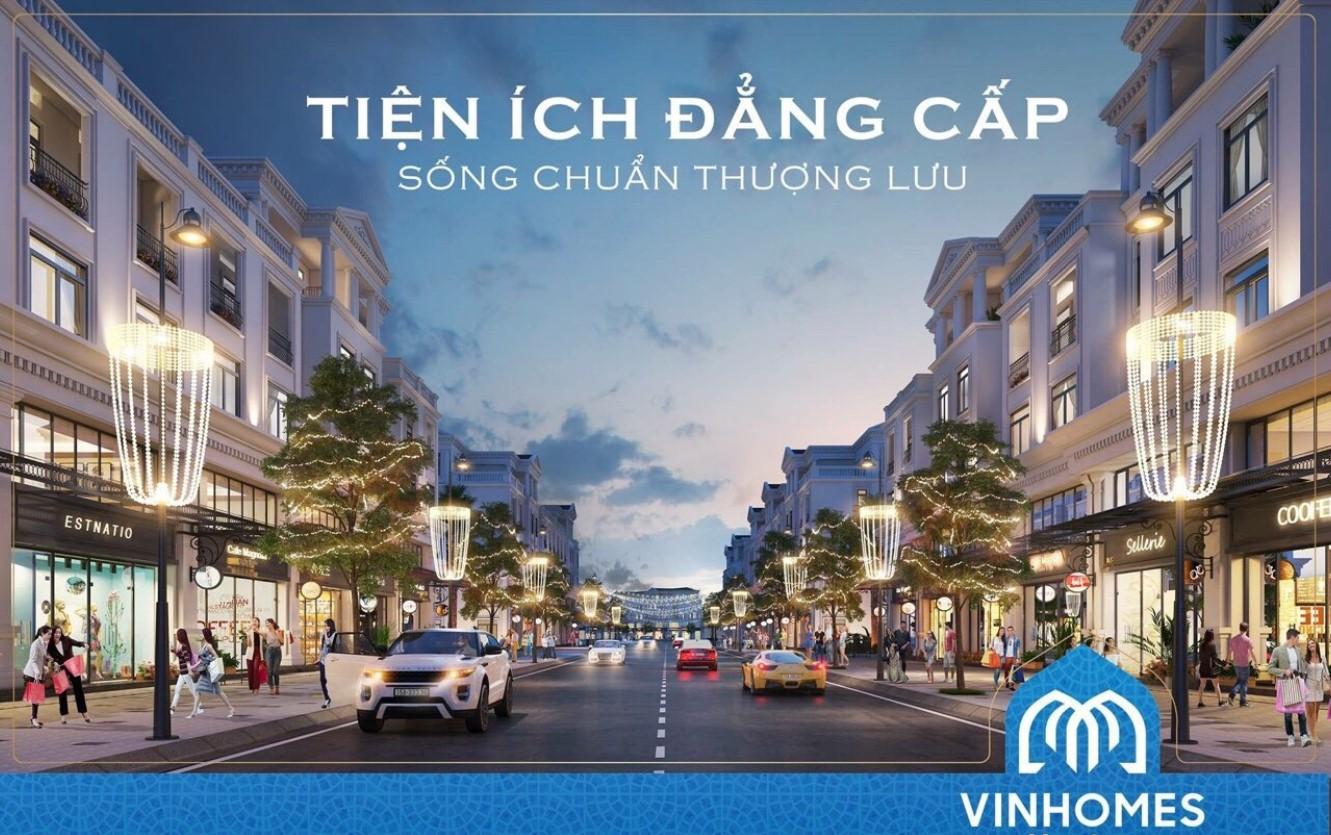 Thiết kế shophouse Vinhomes Hạ Long Xanh siêu hiện đại