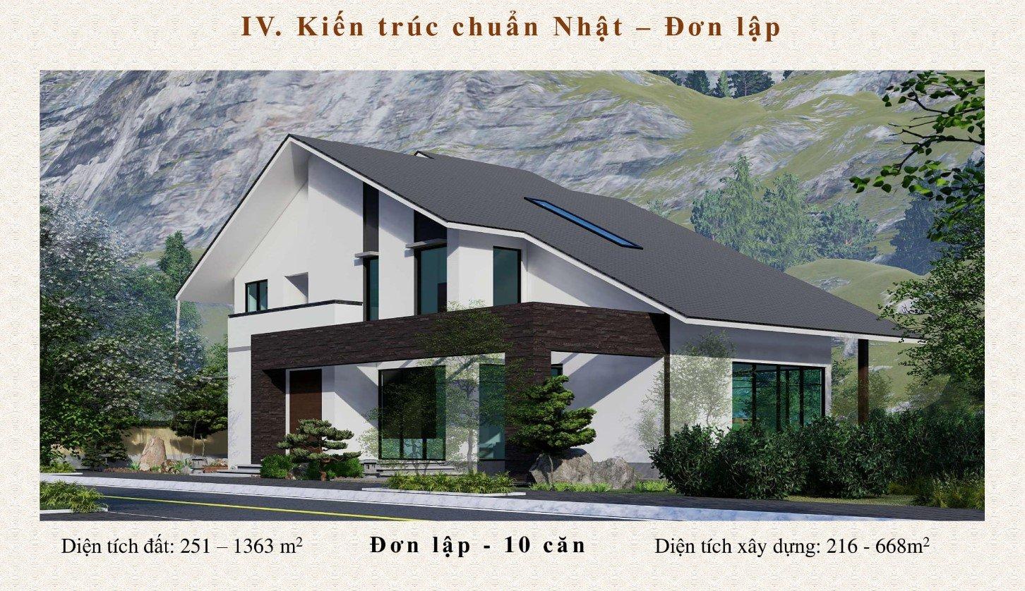 Biệt thự đơn lập dự án Sun Onsen Village Quang Hanh