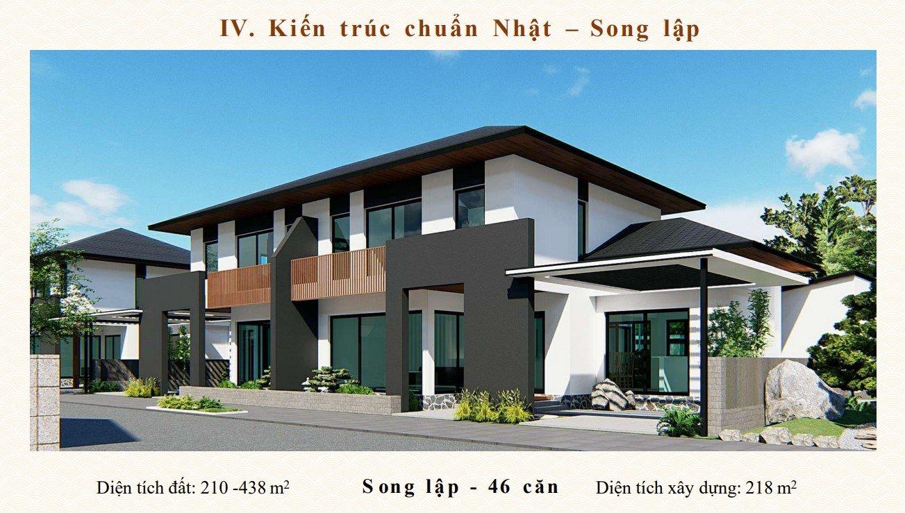 Biệt thự song lập dự án Sun Onsen Village Quang Hanh