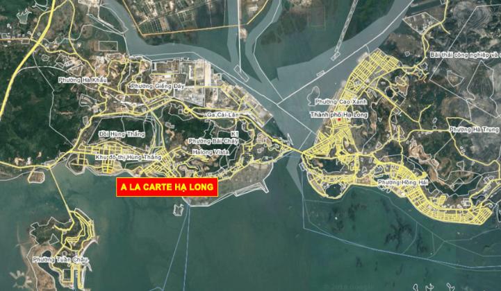 Vị trí dự án A La Carte