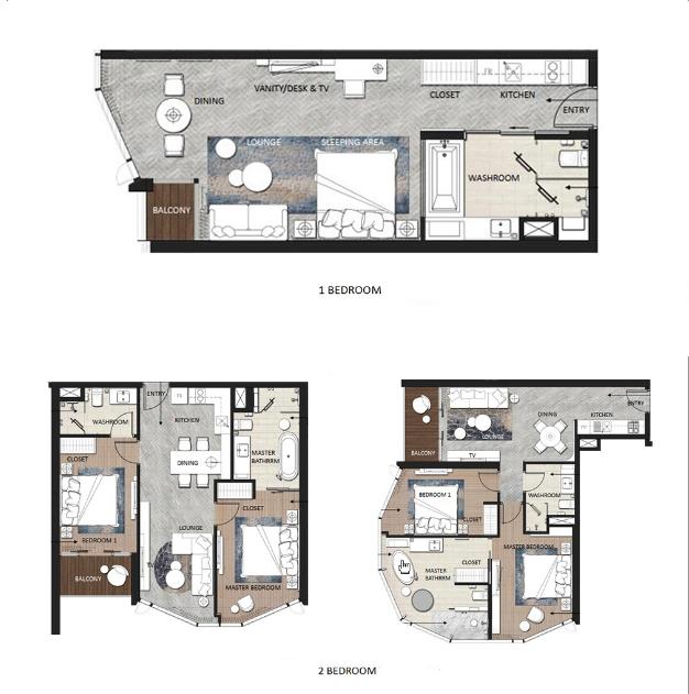 Các căn hộ dự án A La Carte