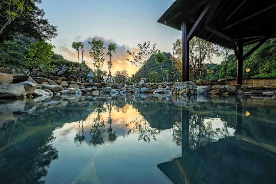 Suối khoáng Sun Onsen Village Quang Hanh